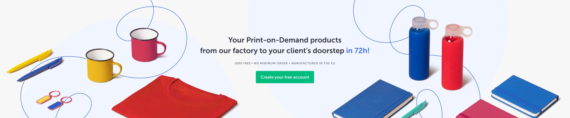 print-on-demand products in the uk | Camaloon