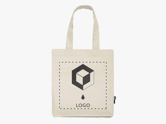 Custom Organic Cotton Twill Tote Bags By Neutral 174 210 G