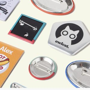 Personalised badges | Camaloon