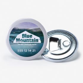 Round magnetic bottle openers