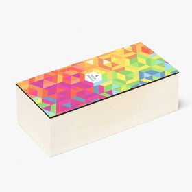 Wood boxes with full-colour personalisation