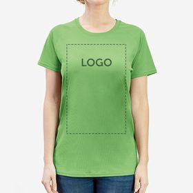 T-shirts desportivas mulher Fruit of the Loom Performance Women