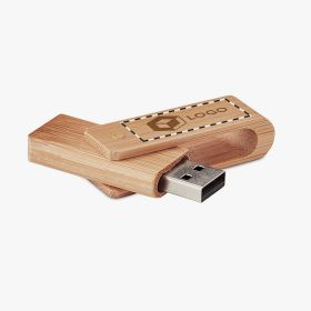 16GB Bamboo USB Flash Drive