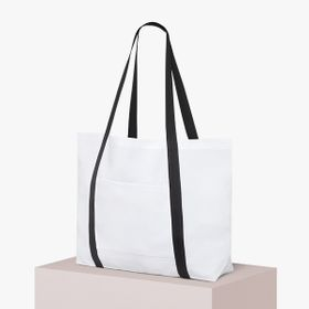 Large all-over print tote bags