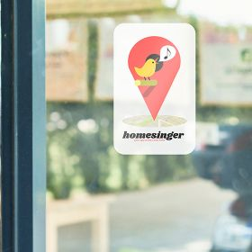 Printed window stickers | Camaloon