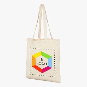 Cotton tote bags 340 g/m²