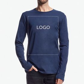 Stanley Stella Shuffles Men Long Sleeve Organic T-shirts