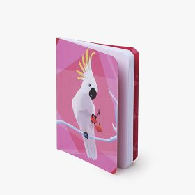 A6 section sewn notebooks with full cover printing