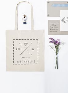 Tote bag pour mariage | Camaloon