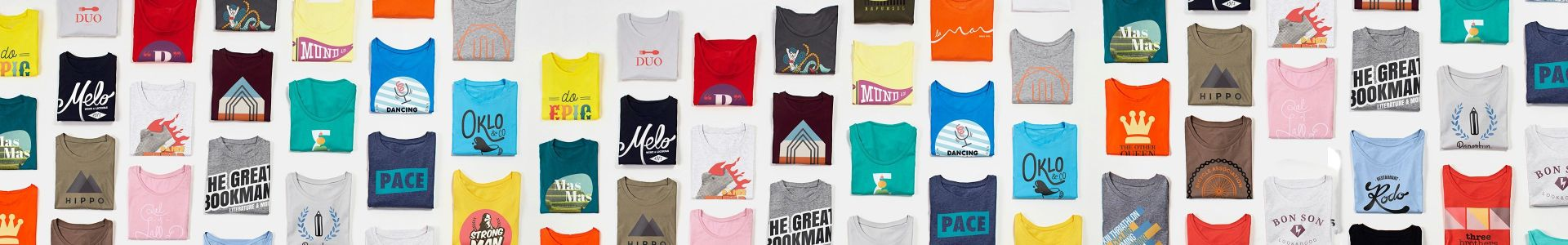 Merchandise t-shirts for your brand | Camaloon
