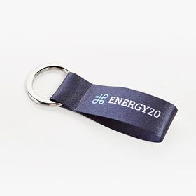 Mini satin texture key rings accessibility.image