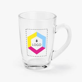 Coffee glass mug | 230 ml