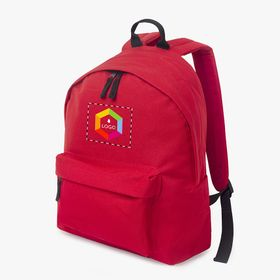 Polyester kid's backpacks with padded back panel