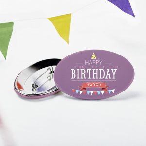 Birthday buttons | Camaloon