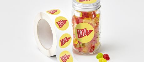 Stick the essential information of your business on your sticker labels | Camaloon