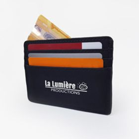 Synthetic nubuck cardholders