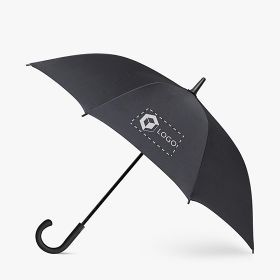 Automatic umbrellas with rubber handle