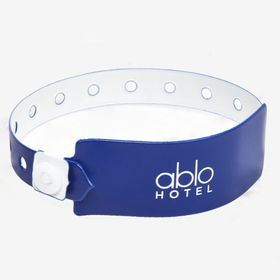 Wristbands with bigger printing surface accessibility.image
