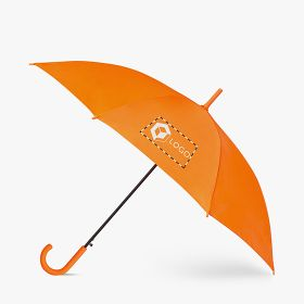 Automatic umbrellas with hook handle