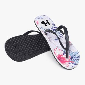 Flip-flops with edge-to-edge printing (Men 9-9.5 | Women 11-12)