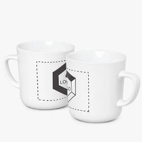 Ceramic Americano coffee mugs | 270 ml