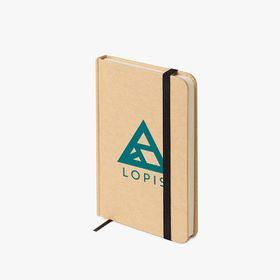 A6 recycled soft-touch hardcover notebooks