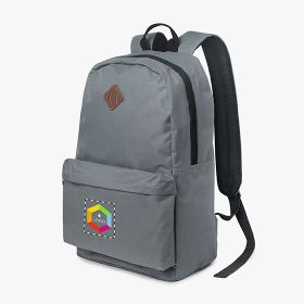 "Polyester laptop backpacks 15"" with lash tab and front pocket"