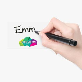 """Write your name"" tags stickers"