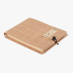 Bamboo A6 notebooks with pen