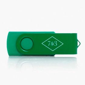 Memorias flash USB de colores