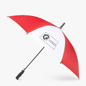 Automatic umbrellas with plastic handle