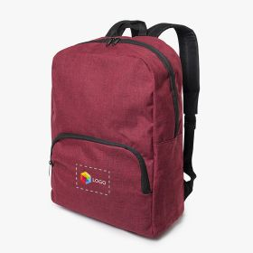 Laptop backpacks with front pocket