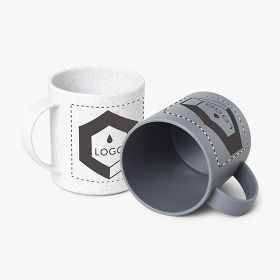 Plastic and bamboo fiber mugs | 300 ml