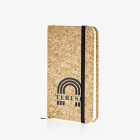 B7 pocket notebooks with cork cover