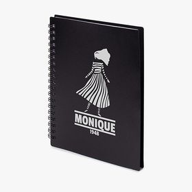 B6 softcover spiral notebook