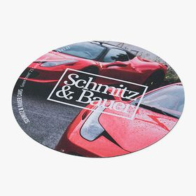 Softcover circle mousepads