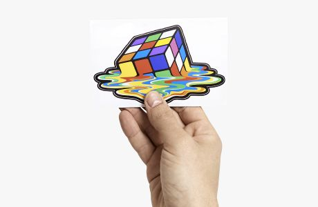 Custom shaped polyester stickers | Camaloon