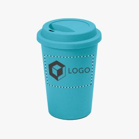 Bamboo fiber take-away mugs | 450 ml