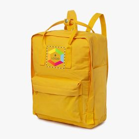 Water resistant polyester and cotton backpacks