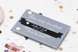Decorate your save the date reminders | Camaloon