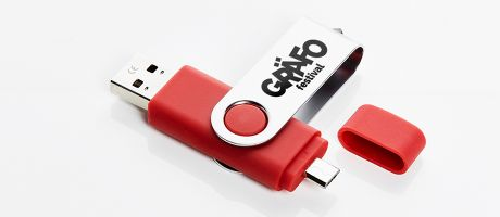 Your personalised USB flash drives with one colour printing | Camaloon