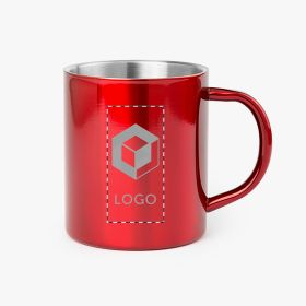 Caneca de metal Camp | 280 ml