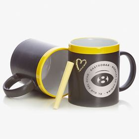 Ceramic blackboard mugs | 350 ml