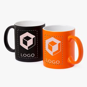 Laser engraved ceramic mugs | 350 ml