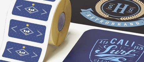 Design sticker labels that show off your brand | Camaloon