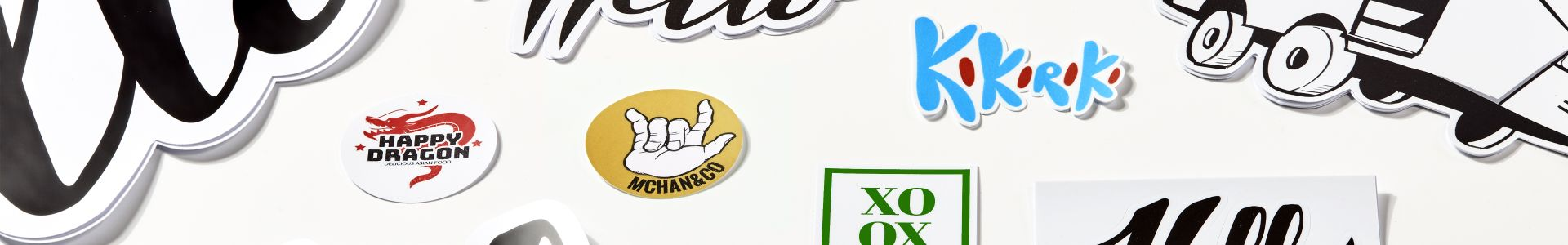 Screen printed stickers | Camaloon