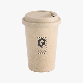 Coffee to go Becher aus Bambusfasern | 450 m