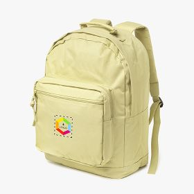 Nylon backpacks with two front and two side pockets