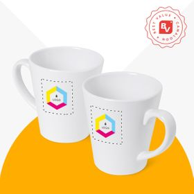 Best Value® Caneca de cerâmica Latte | 350 ml