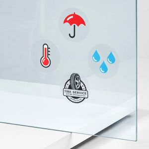 Sticker with a transparent background | Camaloon